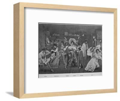 'Sous Les Armes', 1900-Unknown-Framed Photographic Print