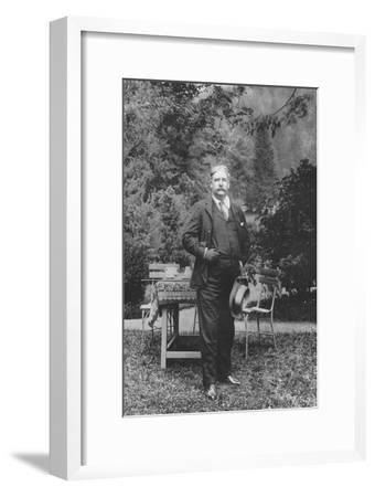 'Mr. George Edwardes', 1911-Unknown-Framed Giclee Print