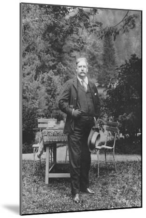 'Mr. George Edwardes', 1911-Unknown-Mounted Giclee Print