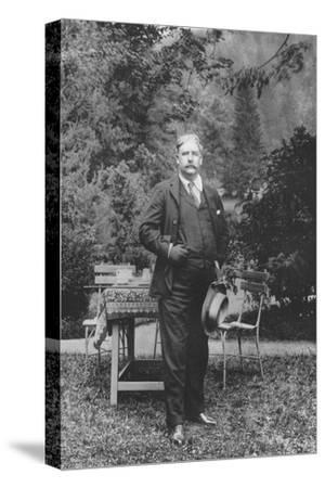 'Mr. George Edwardes', 1911-Unknown-Stretched Canvas Print