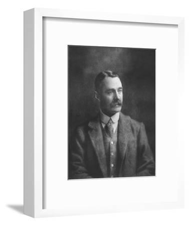 'Mr W Brodrick-Cloete', 1911-Unknown-Framed Giclee Print