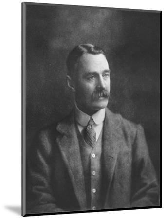 'Mr W Brodrick-Cloete', 1911-Unknown-Mounted Giclee Print