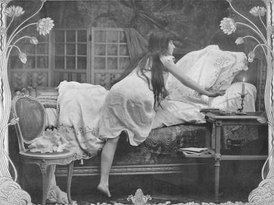 'L'Heureuse Escalade', 1900-Unknown-Framed Photographic Print