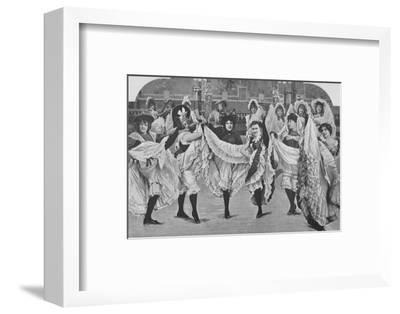 'Le Jardin De Paris - Ou Les Plaisirs De L'Ete', 1900-Unknown-Framed Photographic Print