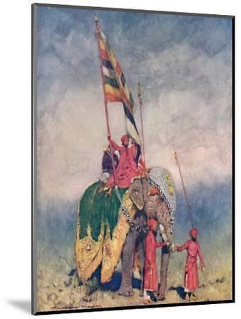 'A Standard-bearer', 1903-Mortimer L Menpes-Mounted Giclee Print