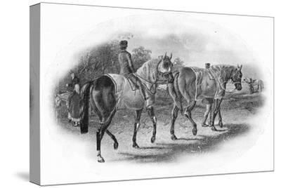 'The Next Race', 19th century, (1911)-Unknown-Stretched Canvas Print