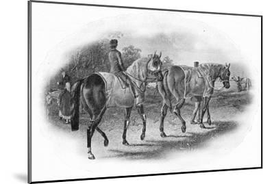 'The Next Race', 19th century, (1911)-Unknown-Mounted Giclee Print