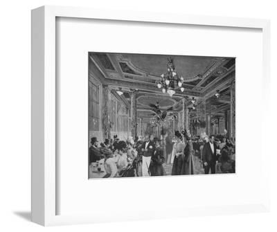 'La Grande Salle Du Cafe Americain', 1900-Unknown-Framed Photographic Print