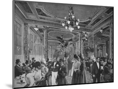 'La Grande Salle Du Cafe Americain', 1900-Unknown-Mounted Photographic Print