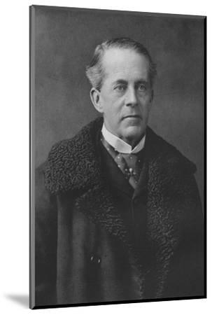 'Earl Cadogan', 1911-Unknown-Mounted Photographic Print