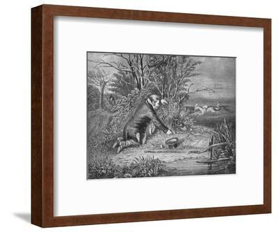 'How The Secret Got Out', 1911-Unknown-Framed Giclee Print