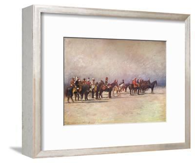 'Viceroy reviewing the Troops', 1903-Mortimer L Menpes-Framed Giclee Print