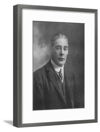 'Sir Ernest C. Cochrane', 1911-Unknown-Framed Giclee Print