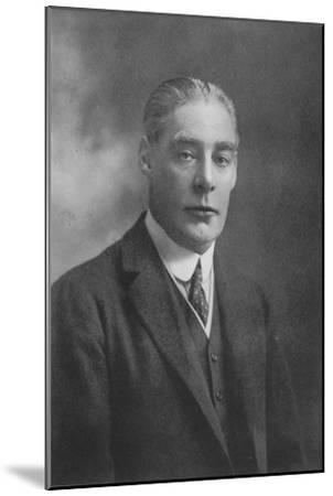 'Sir Ernest C. Cochrane', 1911-Unknown-Mounted Giclee Print