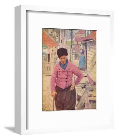 'A Dutch Fisherman', 1903-Mortimer L Menpes-Framed Giclee Print
