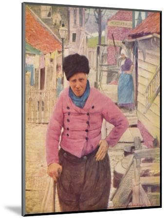 'A Dutch Fisherman', 1903-Mortimer L Menpes-Mounted Giclee Print