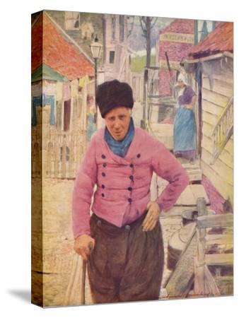 'A Dutch Fisherman', 1903-Mortimer L Menpes-Stretched Canvas Print