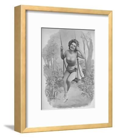 'Pauline D'Argent', 1900-Unknown-Framed Photographic Print