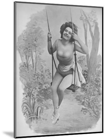 'Pauline D'Argent', 1900-Unknown-Mounted Photographic Print