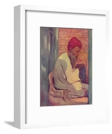 'A Slipper-maker', 1903-Mortimer L Menpes-Framed Giclee Print