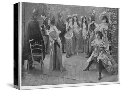 'Apres La Bataille', 1900-Unknown-Stretched Canvas Print