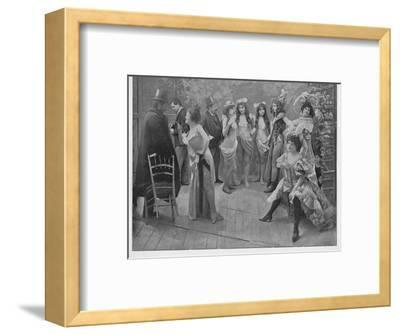 'Apres La Bataille', 1900-Unknown-Framed Photographic Print