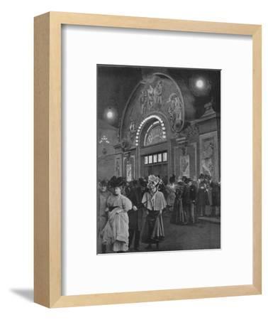 'La Sortie De Bullier', 1900-Unknown-Framed Photographic Print