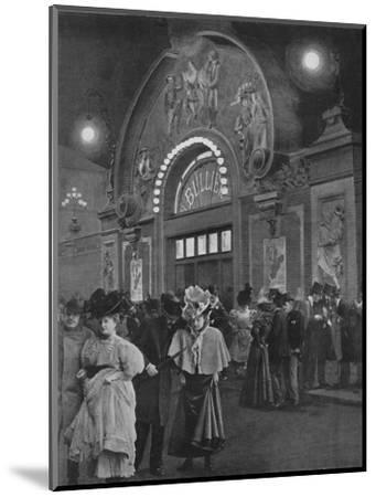 'La Sortie De Bullier', 1900-Unknown-Mounted Photographic Print