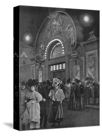 'La Sortie De Bullier', 1900-Unknown-Stretched Canvas Print