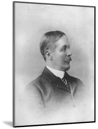 'Mr. J. J. Bell Irving', 1911-Unknown-Mounted Giclee Print