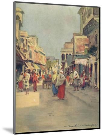 'A Side Street in Agra', 1905-Mortimer Luddington Menpes-Mounted Giclee Print