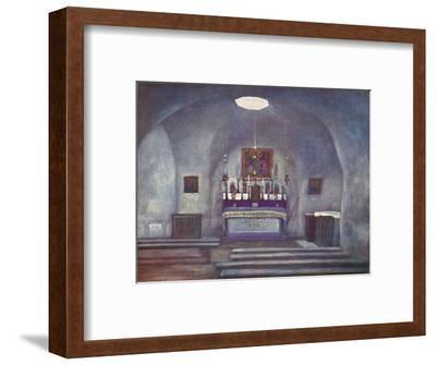 'The House of Ananias, Damascus', 1903-Mortimer L Menpes-Framed Giclee Print