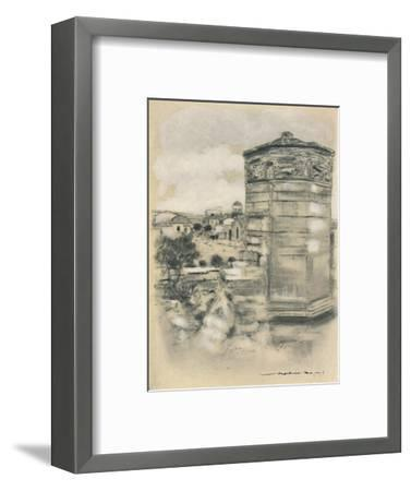 'Tower of the Winds, Athens', 1903-Mortimer L Menpes-Framed Giclee Print