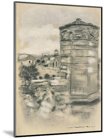 'Tower of the Winds, Athens', 1903-Mortimer L Menpes-Mounted Giclee Print