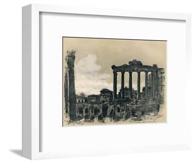 'Remains of Ancient Rome', 1903-Mortimer L Menpes-Framed Giclee Print