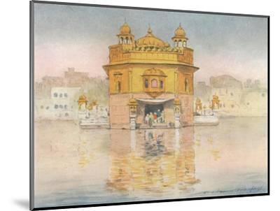 'The Golden Temple, Amritsar', 1905-Mortimer Luddington Menpes-Mounted Giclee Print