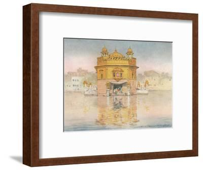 'The Golden Temple, Amritsar', 1905-Mortimer Luddington Menpes-Framed Giclee Print