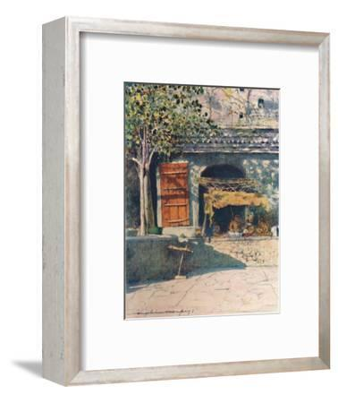 'The Red Shutter', 1905-Mortimer Luddington Menpes-Framed Giclee Print