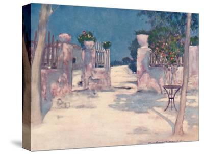 'A Garden, Athens', 1903-Mortimer L Menpes-Stretched Canvas Print