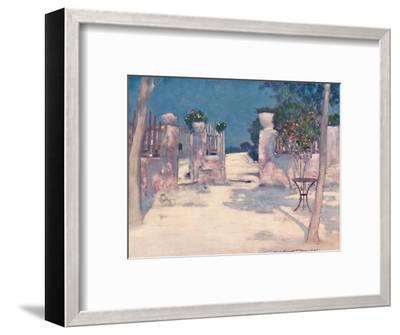 'A Garden, Athens', 1903-Mortimer L Menpes-Framed Giclee Print
