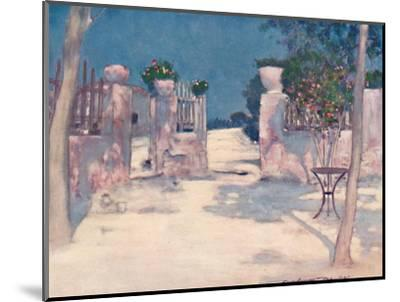 'A Garden, Athens', 1903-Mortimer L Menpes-Mounted Giclee Print