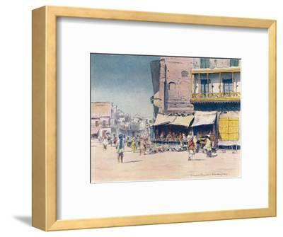 'Grain-sellers', 1905-Mortimer Luddington Menpes-Framed Giclee Print