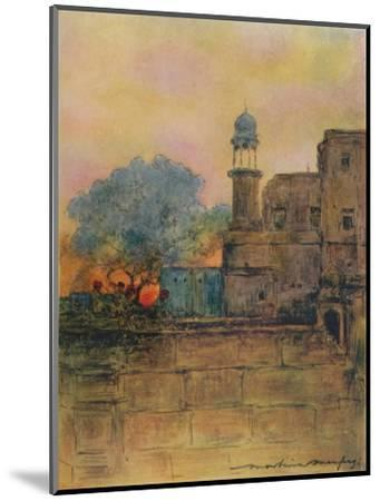 'Muttra', 1905-Mortimer Luddington Menpes-Mounted Giclee Print