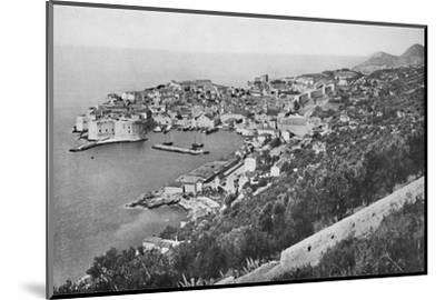 'Ragusa', 1913-Unknown-Mounted Photographic Print