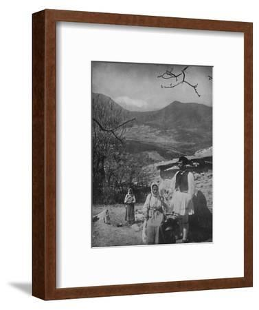 'View of Mount Parnassus', 1913-Unknown-Framed Photographic Print