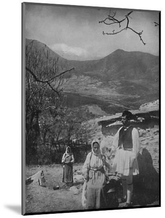 'View of Mount Parnassus', 1913-Unknown-Mounted Photographic Print