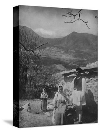'View of Mount Parnassus', 1913-Unknown-Stretched Canvas Print