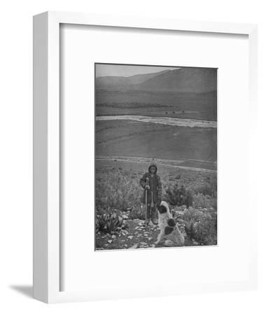 'The Plain of Marathon', 1913-Unknown-Framed Giclee Print