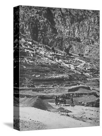 'Place of the famous Oracle, Delphi', 1913-Unknown-Stretched Canvas Print