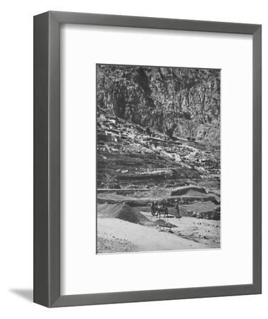 'Place of the famous Oracle, Delphi', 1913-Unknown-Framed Photographic Print
